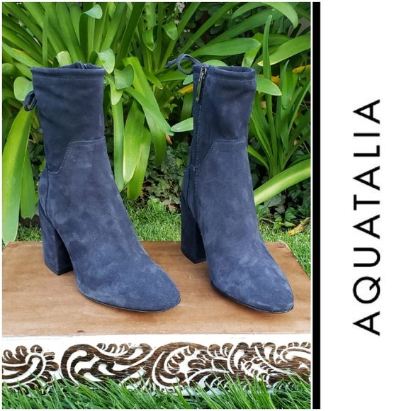 aquatalia navy boots